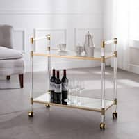 Harper Blvd Tanisto Acrylic Bar Cart