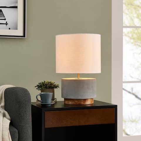 Carson Carrington Ulrika 18 inch Concrete Table Lamp