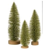 Bottlebrush Trees - Set of 3