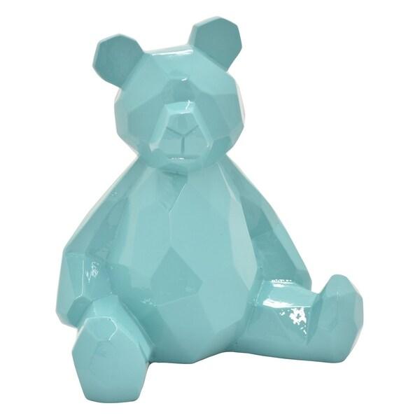 """7.5 """" -Three Hands Teddy Bear - Blue"""