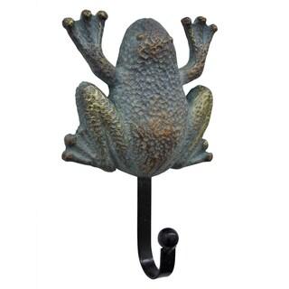 """6.5 """" -Three Hands Frog Wall Hook"""