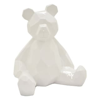"7.5 "" -Three Hands Teddy Bear - White"