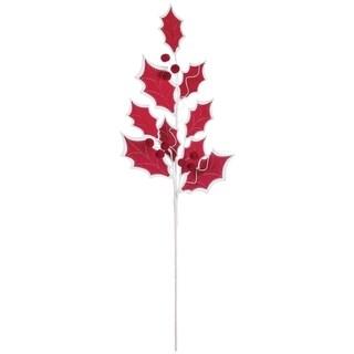 """Holly Leaf Spray - 14""""l x 3""""w x 33.5""""h"""