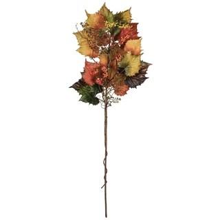 "Autumn Grape & Leaf Spray - 18""l x 7""w x 43""h"