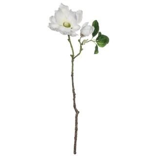 """Magnolia with Snow Spray - 7""""l x 5.5""""w x 26.5""""h"""