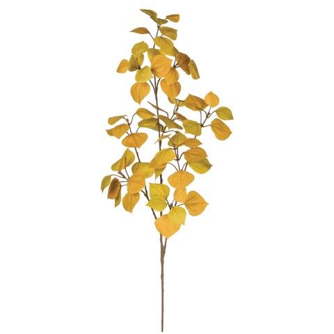 "Autumn Aspen Leaf Spray - 12""l x 4""w x 26.5""h"