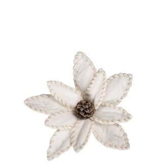 "Poinsettia Clip - 11.5""l x 3.5""w x 11.5""h"