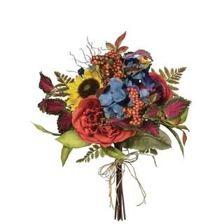 "Summer Mixed Floral Bush - 16""l x 16""w x 18""h"