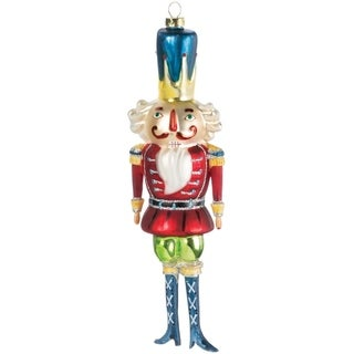 "Nutcracker Ornament - 2.75""l x 1.5""w x 8""h"
