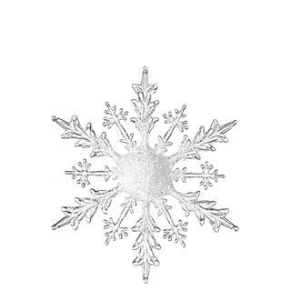 """Iced Snowflake Ornament - 18""""l x 1.5""""w x 18""""h"""