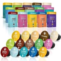 Gourmesso Trial Bundle (150 capsules) Coffee Capsules Compatible with Nespresso Machines