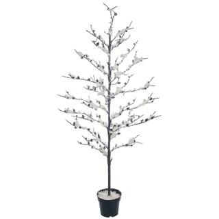 """Snowy Twig Potted Tree - 28""""l x 28""""w x 57""""h"""