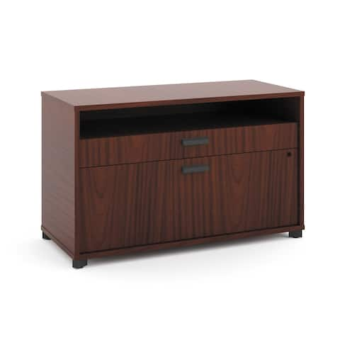 """HON Manage 36""""W File Center, 1 Shelf / 2 Drawers Storage for Office (HMNG36FCD)"""