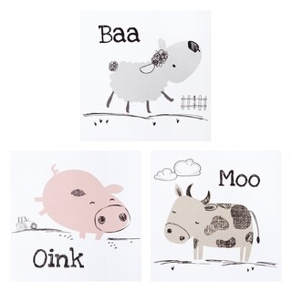 Farm Stack Canvas Wall Art 3 Pack