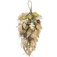 """Autumn Acorn & Foliage Swag - 13.5""""l x 7""""w x 24""""h"""