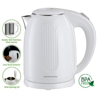 Ovente KD64 Double Wall Stainless Stell Electric Kettle 1.7L