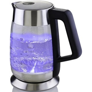 Ovente KG660S Cordless Electric Glass Kettle 1.8L