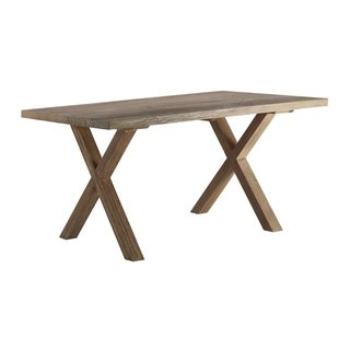 Finch Avignon Trestle Dining Table in Reclaimed Oak