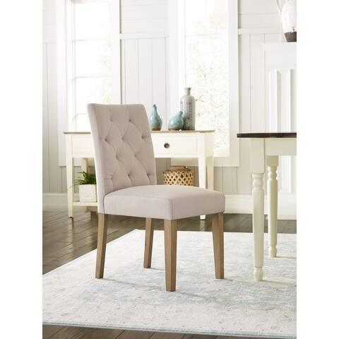 Porch & Den Aiken Tufted Dining Chair (Set of 2)