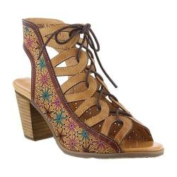 Women's L'Artiste by Spring Step Laure Cage Shoe Beige Leather
