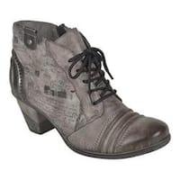 Women's Remonte Cheyenne 71 Ankle Boot Cigar/Schwarz/Altsilber