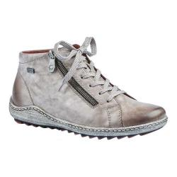 Women's Remonte Liv R1470 High Top Sneaker Grau/Cigar Leather/Synthetic