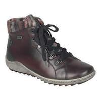Women's Remonte Liv R1473 Ankle Boot Chianti/Schwarz/Grau/Rot