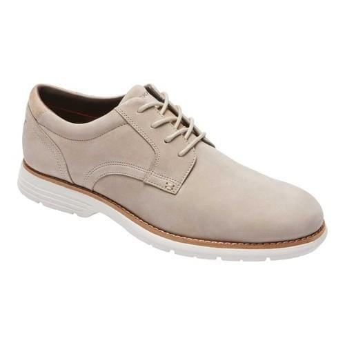 8758c0f3a Shop Men s Rockport Total Motion Plain Toe Derby Rocksand Leather - Free  Shipping Today - Overstock.com - 19679798