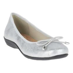 Women's Soft Style Heartbreaker Flat Silver Eclipse Synthetic