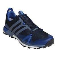 Men's adidas Terrex Agravic GORE-TEX Trail Running Shoe Collegiate Navy/Raw Steel/Blue Beauty