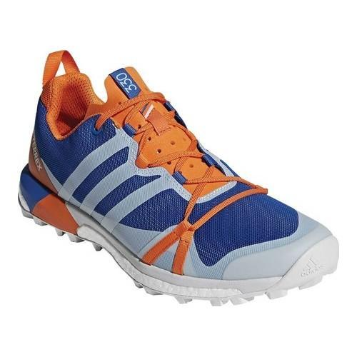 Shop Men s adidas Terrex Agravic Trail Running Shoe Blue Beauty Grey  One Orange - Free Shipping Today - Overstock - 19738958 c6d02c691
