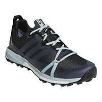 Women's adidas Terrex Agravic GORE-TEX Trail Running Shoe Carbon/Grey Three/Ash Green