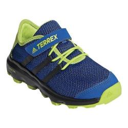 Children's adidas Terrex Climacool Voyager Cloudfoam Hiking Shoe Real Teal/Chalk White/Solar Slime