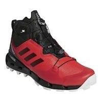 Men's adidas Terrex Fast Mid GORE-TEX Surround Hiking Shoe Hi-Res Red/Black/Grey One