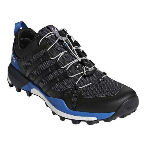 new york 9a41a 0cd71 Shop Mens adidas Terrex Skychaser Trail Running Shoe BlackBlackCarbon -  Free Shipping Today - Overstock - 19738935