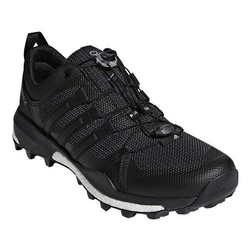 premium selection 4893b 008b3 Shop Mens adidas Terrex Skychaser Trail Running Shoe CarbonBlackWhite -  Free Shipping Today - Overstock.com - 19738997