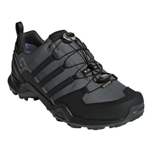 68a24368b Shop Men s adidas Terrex Swift R2 GORE-TEX Hiking Shoe Grey Five Black Carbon  - Free Shipping Today - Overstock - 19739006