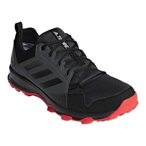 3b5f0d885cae Shop Men s adidas Terrex Tracerocker GORE-TEX Waterproof Trail Shoe Orange  Black Carbon - Free Shipping Today - Overstock - 19739020