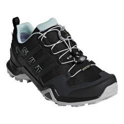 Women's adidas Terrex Swift R2 GORE-TEX Hiking Shoe Black/Black/Ash Green