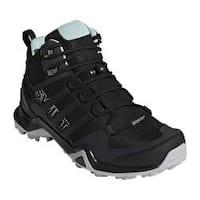 Women's adidas Terrex Swift R2 Mid GORE-TEX Hiking Shoe Black/Black/Ash Green