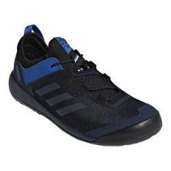Men's adidas Terrex Swift Solo Hiking Shoe Collegiate Navy/Grey Three/Blue Beauty