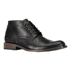 Men's Andrew Marc Drake Chukka Boot Black Synthetic