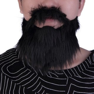 Halloween Mustache & Fake Beard Facial Hair Party Costume Dress Up