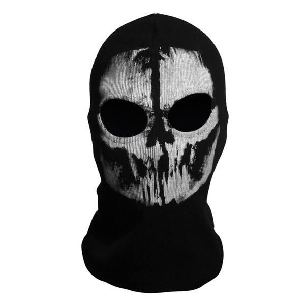 Formulaone Masques de cr/âne fant/ôme Halloween Punisher Deathstroke Reaper Masque Complet /— Noir 4