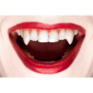 Vampire Fangs Dentures False Teeth Halloween Party Cosplay Props