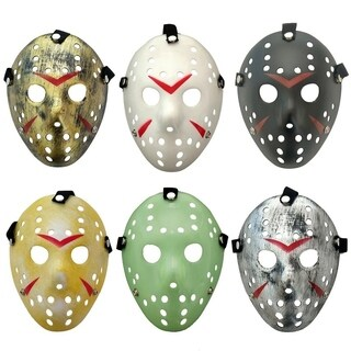 Jason Mask Masquerade Mask Cosplay Costume Halloween Killer Halloween Mask