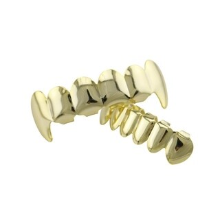 Electroplate Copper 6 Plating Shiny Grillz Teeth Hip Hop Teeth Teeth Grill