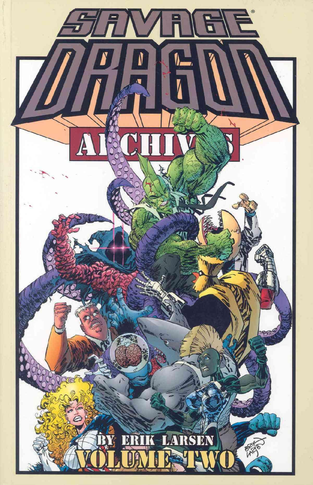 Savage Dragon Archives 2 (Paperback)