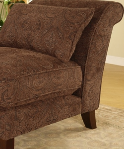 Slipper Chair Sable Paisley