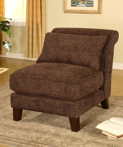 Shop Slipper Chair Sable Paisley Free Shipping Today